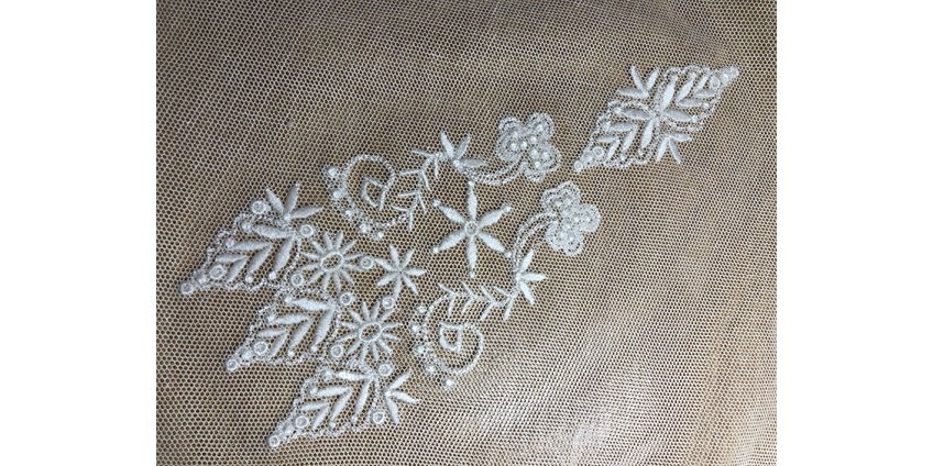 Developing old style embroidery designs