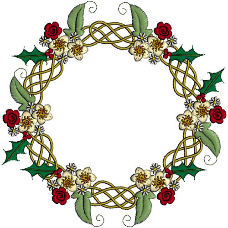 Celtic Christmas.Celtic Christmas 4 From Graceful Embroidery