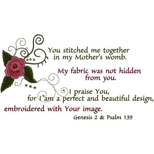 Embroiderer's Prayer 5