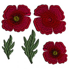 Fields of Poppies Applique