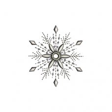 Graceful Snowflakes 2013 Freebie